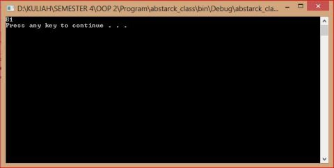 abstrack class cpp