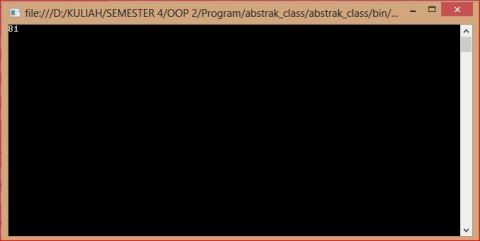 abstrack class
